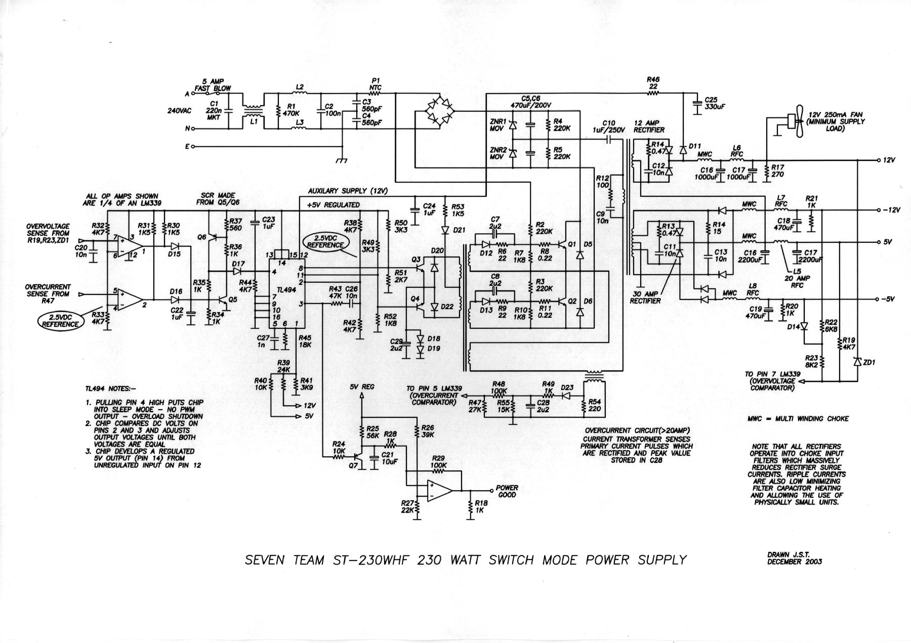 Circuit Diagram Of Power Supply Electronicswiring Lc Filter Basiccircuit Seekic