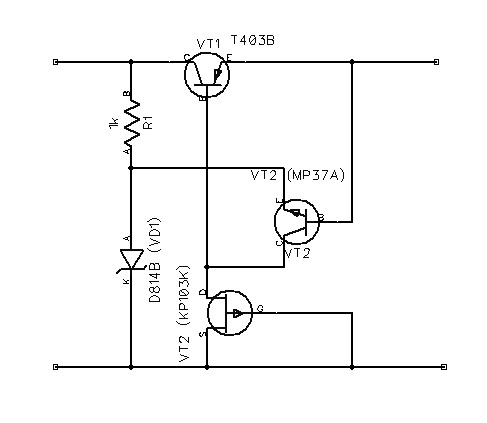 FET Voltage Regulator