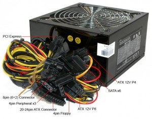 atx power supply connectors