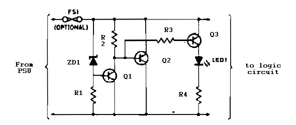 5v Regulated Power Supply Overvoltage Protection Overcurrent Circuit