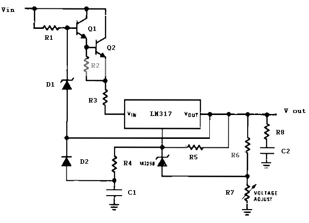 Voltage Regulator Power