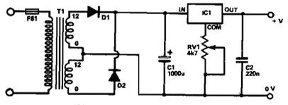 15v Power Supply Circuit Diagram 5v to 15v Power Supply Using