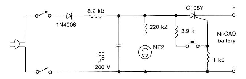 Cool Nicad Battery Zapper Power Supply Circuits Wiring Digital Resources Anistprontobusorg