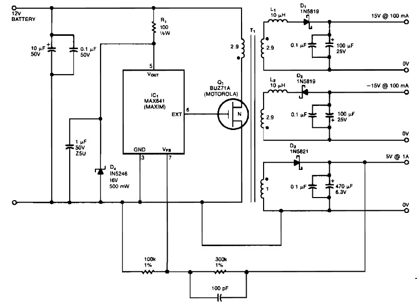 15v Power Supply Circuit Diagram Power Supply Circuits