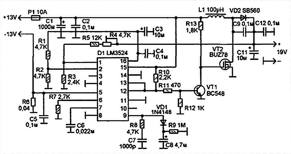 Pc Smps Circuit Diagram Nilzanet – Computer Power Supply Wiring Diagram