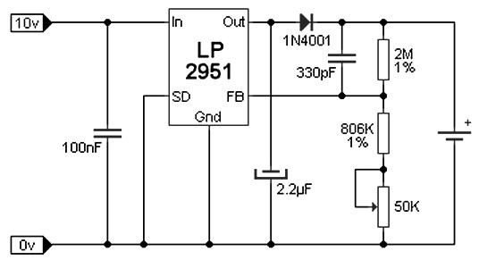 Lithium Ion (Li-Ion) Battery charger - Power Supply Circuits