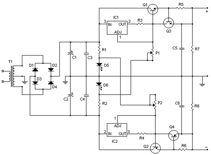 15v Power Supply Circuit Diagram 2a Power Supply Circuits