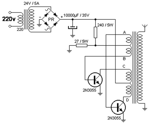 ac dc Power Supply Circuit ac Power Supply Circuits