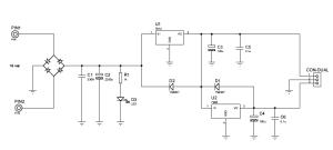 12VDC & 5VDC power supply source