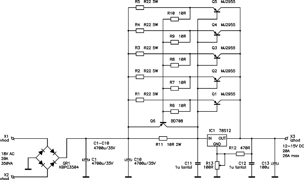 V A Dc Power Supply on atx power supply schematic diagram
