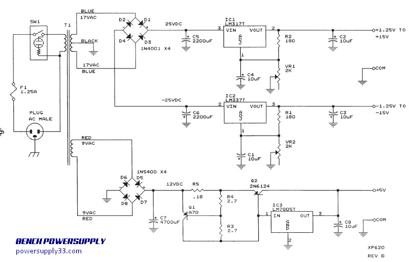 Fine 25 To 25V Regulated Power Supply Circuit Diagram Electronic Circuit Wiring 101 Capemaxxcnl