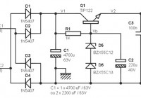 24 volts power supply at 2 amperes schematic