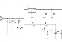 Power Supply source +5 Vdc +12 Vdc