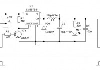 USB power supply with LM2575