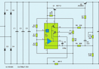 Variable DC power supply 1-27V 3A circuit diagram