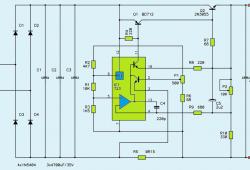 1V-27V 3A Variable DC Power Supply Circuit Diagram