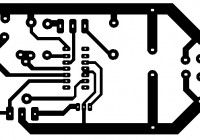 adjustable power supply LM723 PCB layout