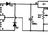 5-15V power supply based 7805